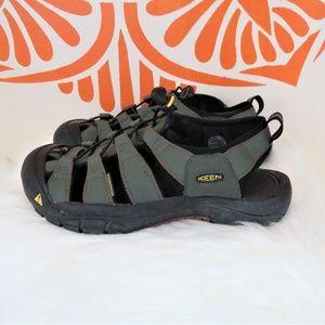 Keen Waterproof Green Hiking Sandals 11